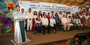 En Chiapas, difundirán campaña de donación de órganos en 12 lenguas maternas