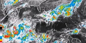 Se pronostican lluvias intensas para Veracruz, Tabasco y Chiapas durante las próximas horas