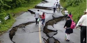 Lluvias en Chiapas provocan hundimiento en la carretera Pichucalco- Tectuapan