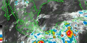 Una zona de inestabilidad mantiene el temporal de lluvias en el Sur y Sureste de México