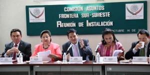 Diputados piden que el trabajo legislativo se refleje en beneficios de la zona sur-sureste