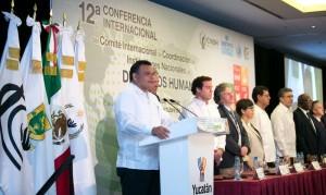 Conferencia mundial de instituciones de derechos humanos se realiza en Yucatán