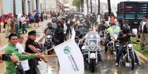 """Rugen los motores en el """"Primer Biker Fest Cozumel"""""""