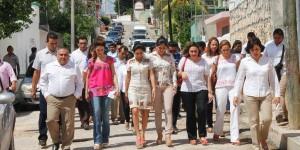 Christelle Castañón de Moreno realizo gira de trabajo por Hopelchén