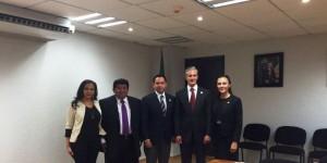 Revisan Diputados Federales y SINTRA paquete de obras para Quintana Roo en 2016