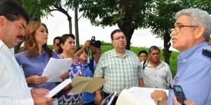 Obras por más de 31 millones de pesos verifican diputados en Cárdenas y Centro