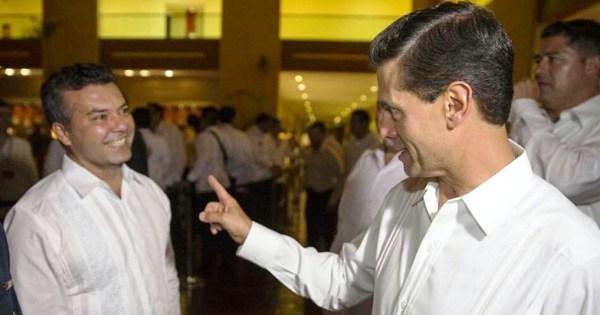 EPN y Mauricio Gongora