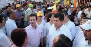 Respalda PRD Tabasco a Gerardo Gaudiano en gira informativa