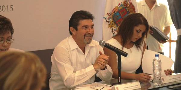 Primera sesion de cabildo Edgar Hernandez Campeche