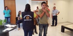 Imparte Protección Civil curso básico de primeros auxilios a personal del aeropuerto de Chetumal