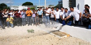 Mayor cobertura de agua potable para habitantes de Conkal