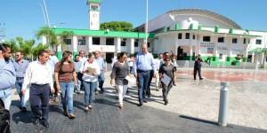 Diputados supervisan obras; se traslada la Segunda Inspectora a Tenosique