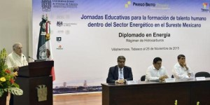 Acelera Tabasco especialización de capital humano en sector energético en la UJAT: Arturo Núñez