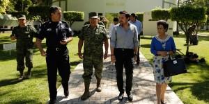 Acuerda Fernando Castellanos trabajar en conjunto con la VII Región Militar