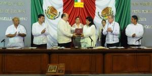 Recibe Congreso de Tabasco, Tercer Informe de Gobierno