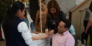 Congreso de Veracruz se suma a las actividades físicas, 20 minutos al día