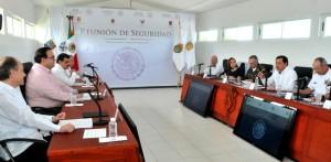 Encabeza Secretario de Gobernación Reunión de Seguridad con gobernadores de La Huasteca