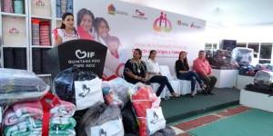 """Inicia Mariana Zorrilla de Borge la colecta estatal """"Abrigando Familias con Amor"""""""