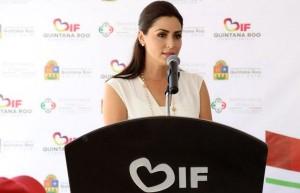 Anuncia Mariana Zorrilla de Borge Tercer Informe de actividades del DIF Quintana Roo
