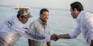 La industria pesquera en Quintana Roo, recibirá el apoyo para su fortalecimiento: Toledo Medina