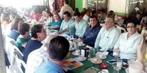 Diputados electos del PVEM realizan encuentro ciudadano en Teapa