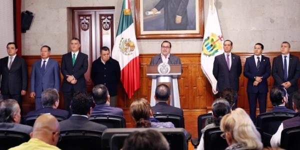 Duarte el Sistema Estatal Anticorrupción