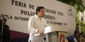 En Tuxtla se trabaja en educación vial: Fernando Castellanos