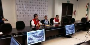 Fuertes lluvias provocaron desbordamiento del río Tecolapa, afectando la zona de Los Tuxtlas