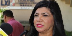 Pasarela de alcaldes ante el Congreso de Tabasco