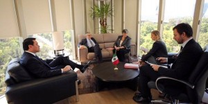 Se reúne Secretario de Gobernación con integrantes de la Comisión Global de Política de Drogas