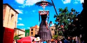 Crean en Zapotlanejo Jalisco la Catrina más grande del mundo