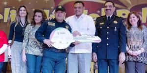 Apoyarán a 300 policías con acciones de vivienda en Yucatán