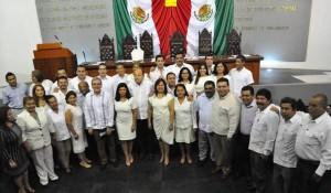 Clausuran Segundo Periodo Ordinario del Tercer Año de Ejercicio Constitucional