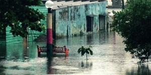 Comunidades de Paraíso, inundadas por las lluvias