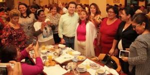 El contacto con los ciudadanos de Centro, será permanente: Gerardo Gaudiano