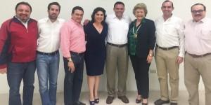 El Gobernador sostiene reunión de trabajo con diputados federales por Yucatán