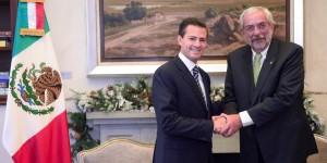 Se reúne el Presidente Enrique Peña Nieto con el Rector de la UNAM, Enrique Graue Wiechers