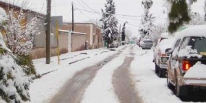 Prevén más nevadas en Durango, Chihuahua y Coahuila