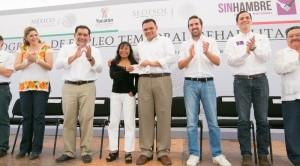Oportunidades laborales y mejora de escuelas en Yucatán con el Programa de Empleo Temporal