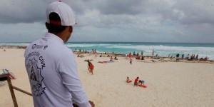 Continúa vigilancia en playas de Quintana Roo por celebración de año nuevo 2016