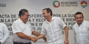 Testifica gobierno de Quintana Roo, entrega-recepción de Benito Juárez a Puerto Morelos