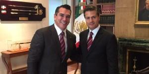 Acuerdan Peña Nieto y Moreno Cárdenas detonar el crecimiento de Campeche