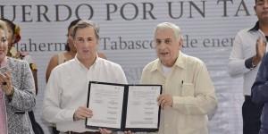 Firman convenio Gobierno de Tabasco y SEDESOL por erradicar la pobreza