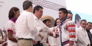 Acta de nacimiento permite tener derechos y acceso a mayores servicios: Osorio Chong