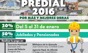 Inicia Ayuntamiento de Coatzacoalcos cobro del predial 2016
