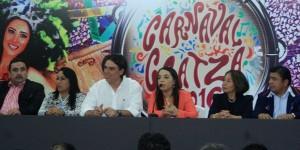 Presentan convocatorias del Carnaval Coatza 2016
