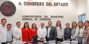 En Chiapas, clima de paz y progreso: Gómez Aranda