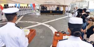 Realizan entrega-recepción del Mando de Armas de la Fuerza Naval del Golfo en Tuxpan