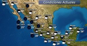 Continuarán las lluvias de muy fuertes a intensas en Chiapas y Tabasco