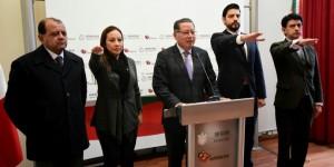 Rinden protesta nuevos servidores públicos de la SEGOB en Veracruz